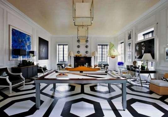 Graphic tile floor, 2020 Home Design trend, Orlando, FL