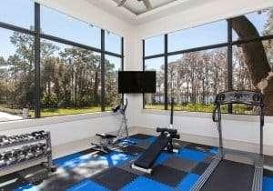 Home Gym Design Idea Orlando, FL